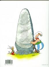 Verso de Astérix (Hachette) -4c14- Astérix gladiateur