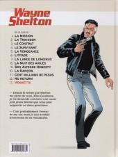 Verso de Wayne Shelton -13- Vendetta