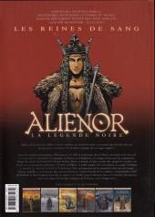 Verso de Les reines de sang - Aliénor, la Légende noire -6- Volume 6