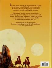 Verso de Les décastés d'Orion -2- Seconde partie