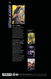 Verso de Gotham Academy -3- Yearbook