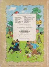 Verso de Tintin (Historique) -9B33- Le crabe aux pinces d'or