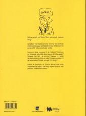 Verso de (AUT) Hergé -Cat- Hergé à Québec