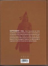 Verso de Les pionniers du Nouveau Monde -2d2011- Le grand dérangement