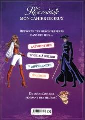 Verso de La rose écarlate -LJ2- Mon cahier de jeux