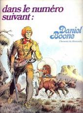 Verso de Histoire du Far West -4- Les Cheyennes