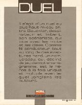 Verso de Duel (Gauckler) - Duel