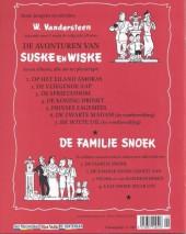 Verso de Suske en Wiske -5- Prinses Zagemeel