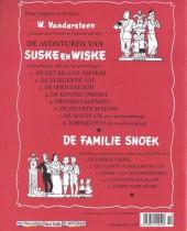 Verso de Suske en Wiske -6- De zwarte madam
