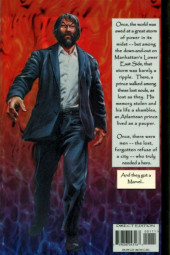 Verso de Tales of the Marvels - Inner demons
