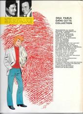 Verso de Ric Hochet -10b1979'- Les 5 revenants