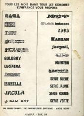 Verso de Maghella -Rec09- Spécial Relié N°9 (du n°30 au n°32)