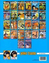 Verso de Yoko Tsuno -8d14- Les titans