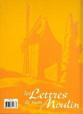 Verso de Les lettres de mon Moulin (Mittéi) -INT- Les Lettres de mon Moulin