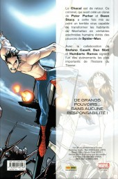 Verso de Spider-Man : Spider-Island