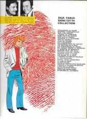 Verso de Ric Hochet -24a80- La piste rouge
