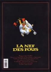 Verso de La nef des fous -INT01- L'intégrale - Tomes 1 à 4