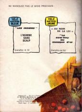 Verso de Télé Série Verte (Thierry la Fronde) -13- La route de Paris