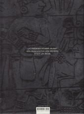 Verso de Le nouveau monde -1- L'épée du conquistador