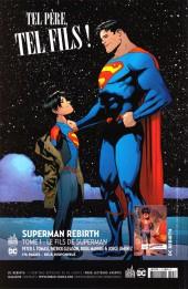 Verso de Justice League Rebirth (DC Presse) -3- Tome 3