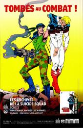 Verso de Suicide Squad Rebirth (DC Presse) -2- Le Mystère de la Chambre Noire !