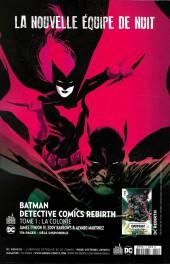 Verso de Batman Rebirth (DC Presse) -3- Tome 3