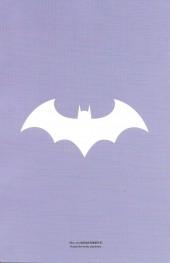 Verso de Batman Rebirth (DC Presse) -1HC- Batman (2016) #1 Director's Cut