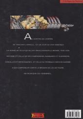 Verso de Chroniques de la Lune Noire -1a1992- Le signe des ténèbres