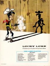 Verso de Lucky Luke -34d84- Dalton City