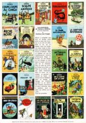 Verso de Tintin - Pastiches, parodies & pirates -2016- Les coiffures de Tintintin - Le Micro salon de coiffures