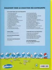 Verso de Les schtroumpfs -35- Les schtroumpfs et les haricots mauves