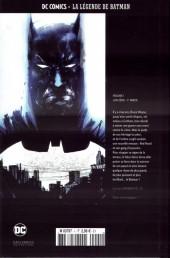 Verso de DC Comics - La légende de Batman -11- L'An zéro - 1re partie