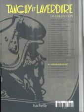 Verso de Tanguy et Laverdure - La Collection (Hachette) -22- L'espion venu du ciel