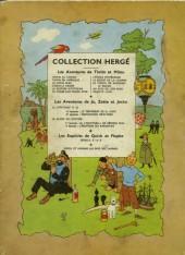 Verso de Tintin (Historique) -8B08- Le sceptre d'Ottokar
