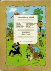 Verso de Tintin (Historique) -7B16- L'île noire
