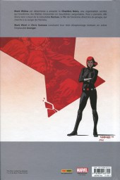 Verso de Black Widow (100% Marvel - 2017) -2- Plus de secrets