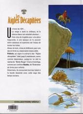 Verso de Les aigles décapitées -2c- L'héritier sans nom