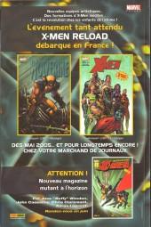 Verso de Marvel Icons (Marvel France 1re série) -1A- La méthode forte