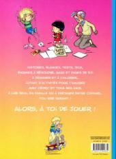 Verso de Cédric -J3- Le grand livre des vacances