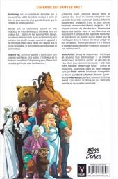 Verso de A+A - Les Aventures d'Archer et Armstrong