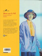 Verso de Agatha Christie (Emmanuel Proust Éditions) -2- Mort sur le Nil