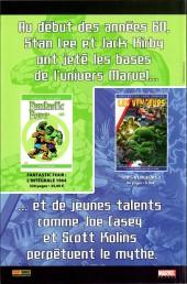 Verso de Marvel Icons (Marvel France - 2005) -6A- Evasion (2)