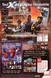 Verso de Marvel Icons (Marvel France - 2005) -8A- Evasion (4)
