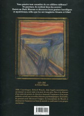 Verso de Dark Museum -2- Le cri