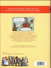 Verso de L'histoire de l'art en BD -2- De la Renaissance à l'art moderne