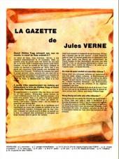 Verso de Jules Verne (Le Journal de) - Aventures extraordinaires -1- Le Tour du monde en 80 jours