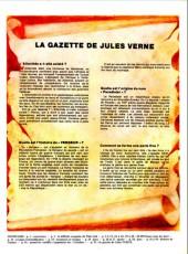 Verso de Jules Verne (Le Journal de) - Aventures extraordinaires -2- Vingt mille lieues sous les mers