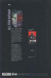Verso de All Star Batman -1- Mon pire ennemi