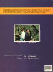 Verso de Les chemins de Malefosse -2- L'attentement