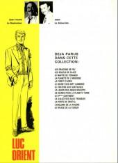 Verso de Luc Orient -4b81- La planète de l'angoisse